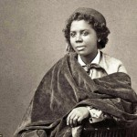 Jet setting- Neoclassical sculptor Edmonia Wildfire Lewis, pictured in the 1880s, was an American-born artist who spent most of her time in a lesbian artists community in Rome